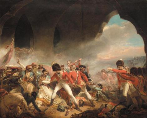 Last Seconds of Mohtaram Tipu Sultan Shaheed