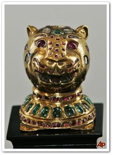 Tipu Sultan's Tiger Head