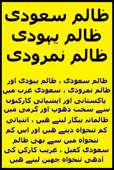 Widget_Saudis are Zalim