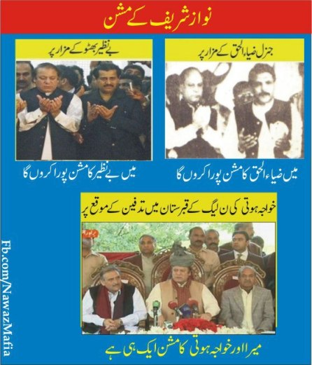 Nawaz Sharif's Hypocrisy