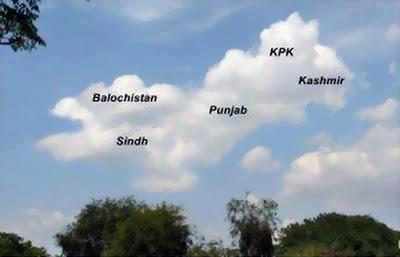 Cloud Map of Pakistan