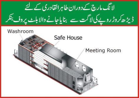 GHADDARS_Tahir Qadri - Ghaddar Padri's Rs 1.5 Crore Bunker