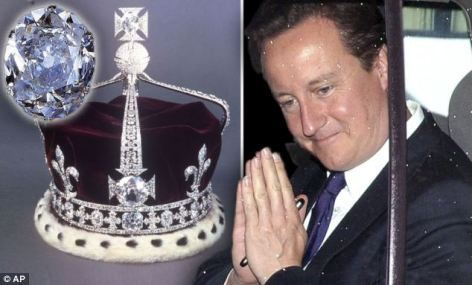 Kohinoor Diamond & David Cameron