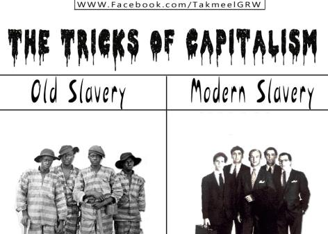 Old Slavery - vs - New Slavery