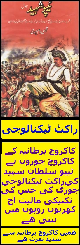 Tipu Sultan - Urdu Book