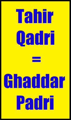 Widget_Tahir Qadri - Ghaddar Padri