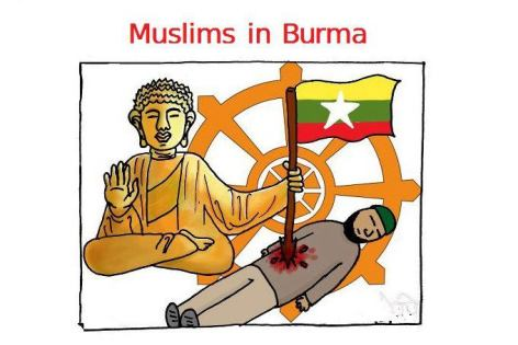 Pic_Budha kills Muslims