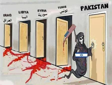 America destroys many countries and now its is Pakistan's turn