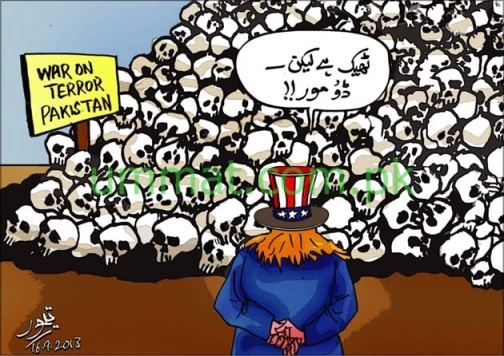 CARTOON_America wants do more from Pakistan