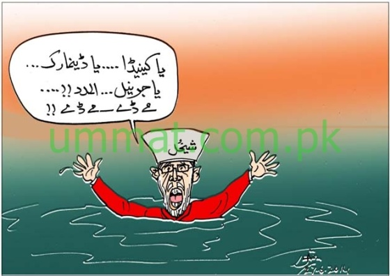 CARTOON_Girgit Baba seeks help from Canada & Denmark