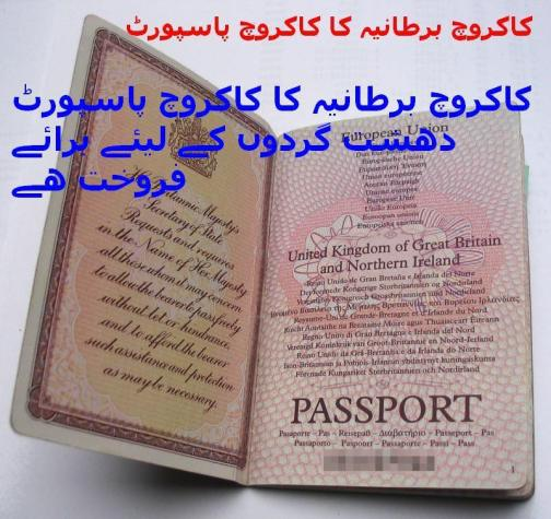 Widget_Brit Passport given to Altaf