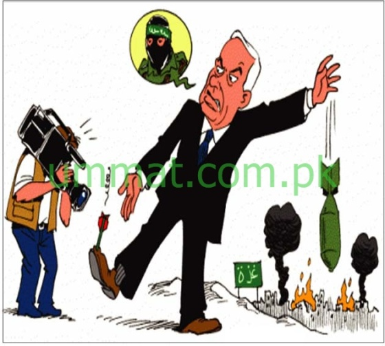 CARTOON_Natenyahoo complains against Hamas