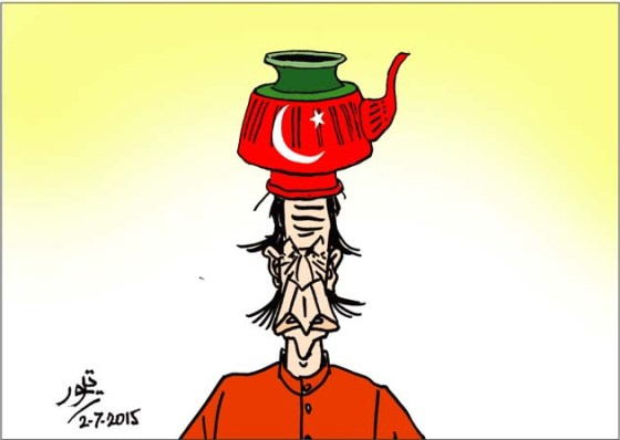 CARTOON_Lota sits on Imran Khans Head_Umt_04-07-15