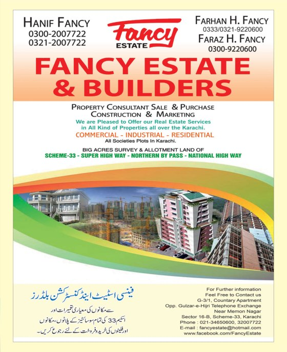 ADVERT_Fancy Estate & Builders_JSRT_Fri Mag_10-04-16